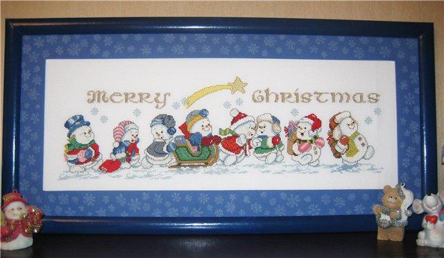 Малыши - Снеговики(новогодний конкурс) - Страница 2 605da1859548