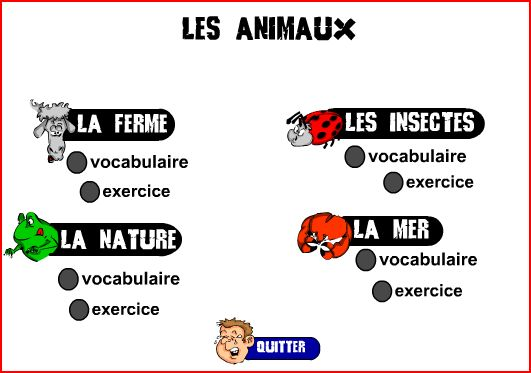 فلاشات بالصوت والصورة لتعلم اللغة الفرنسية مع التمارين 84c42f53b53e