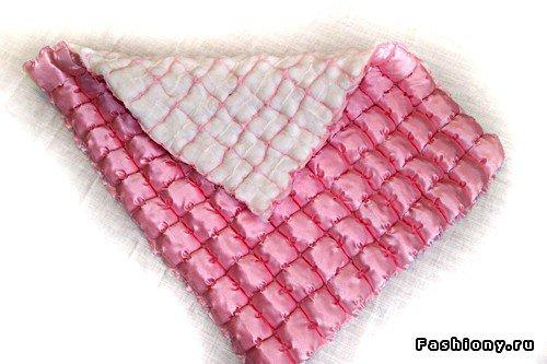 Шьем декоративное одеяло и подушку. Мастер-класс B351481e061b