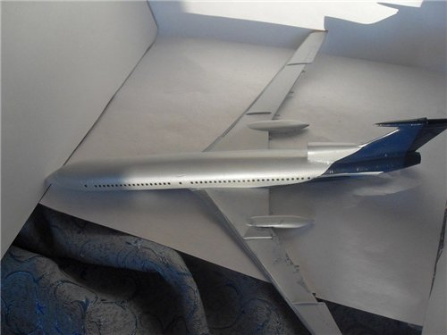 Покраска моделей под Хэв Гласс и перламутр «нового» Аэрофлота. 062d4749e320t