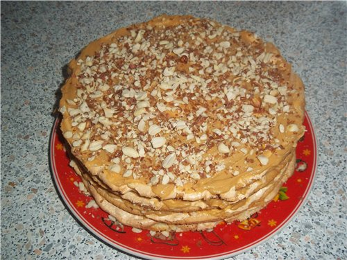 "Торт ""Воздушный сникерс"" - Страница 2 4277895dae05"
