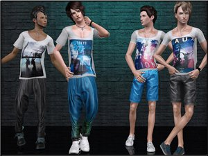 Повседневная одежда (комплекты с брюками, шортами)   - Страница 2 21163fe901e7