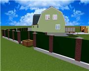 Проект часного дома с мансардой  5ab4d2ef35d2t