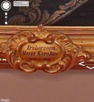 Portraits de Marie Caroline d'Autriche, reine de Naples et de Sicile 24231991_Schonbrunn_maria_karoline_salle_des_gardes_2