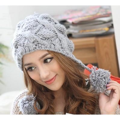 قبعات بنات روعة  Fashion-girl-warm-winter-cable-Favim.com-598536