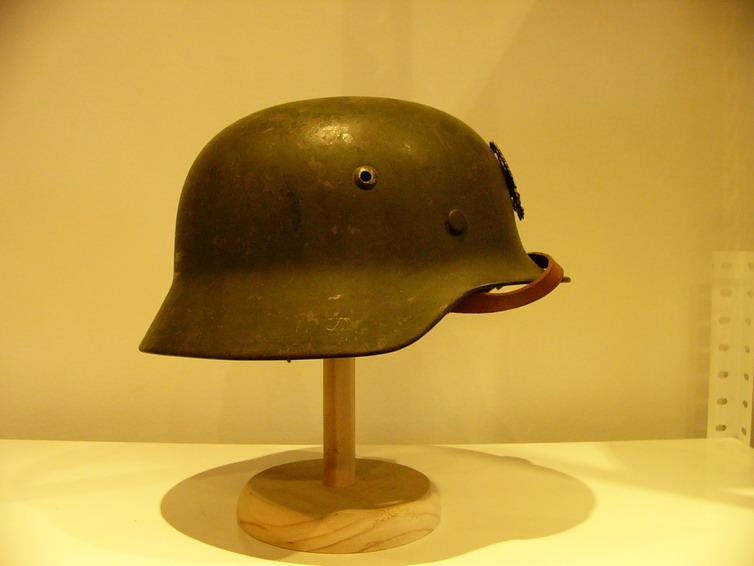 casco - Mod. 35 alemán en España. M35_con_gallina_022_Int_Aleman_col_FJPalomero