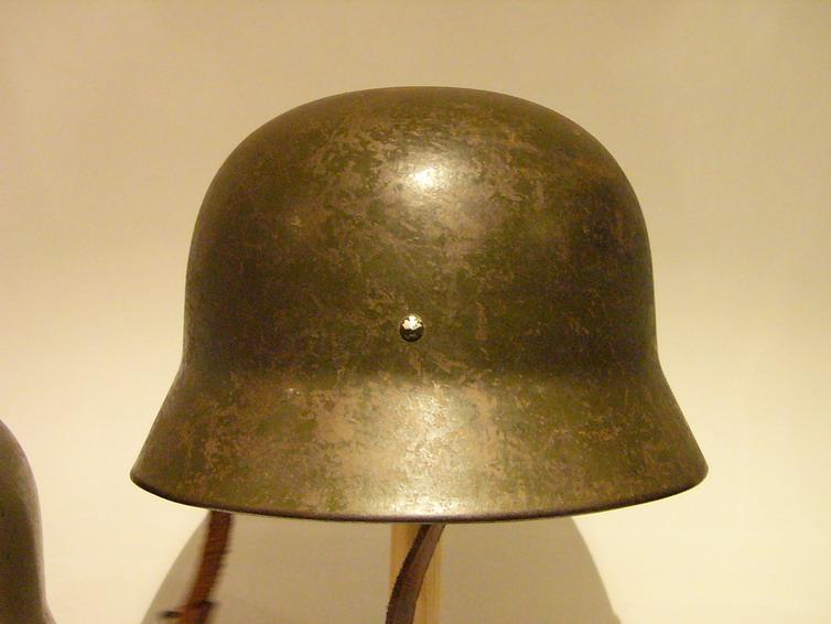 casco - Mod. 35 alemán en España. M35_con_gallina_043_Int_tipo_Ruso_col_FJPalom