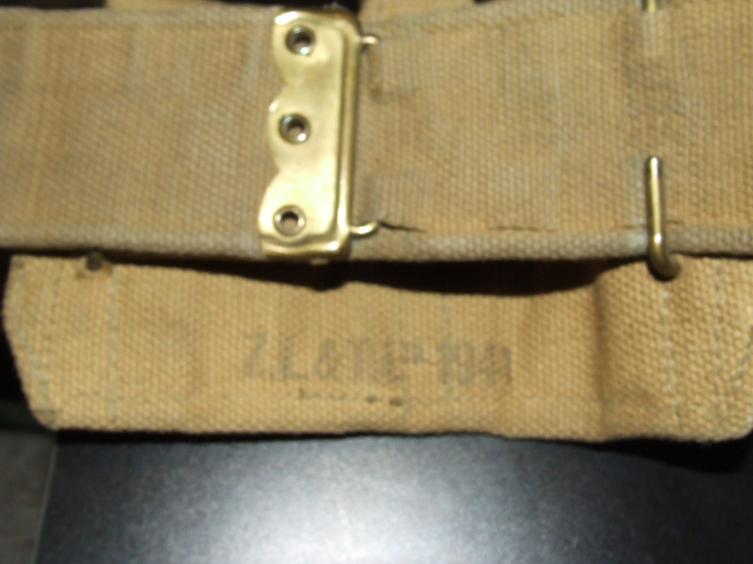 1940, 1941 and 1942  Canadian P37 web belts 030