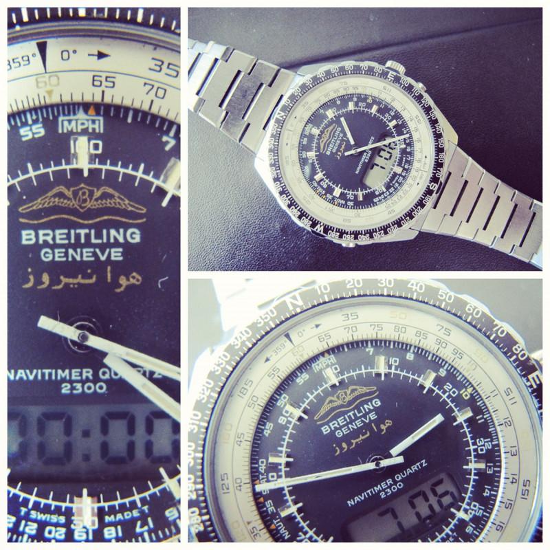Breitling - Breitling de l'arme de l'air Iraniene IMG_4227
