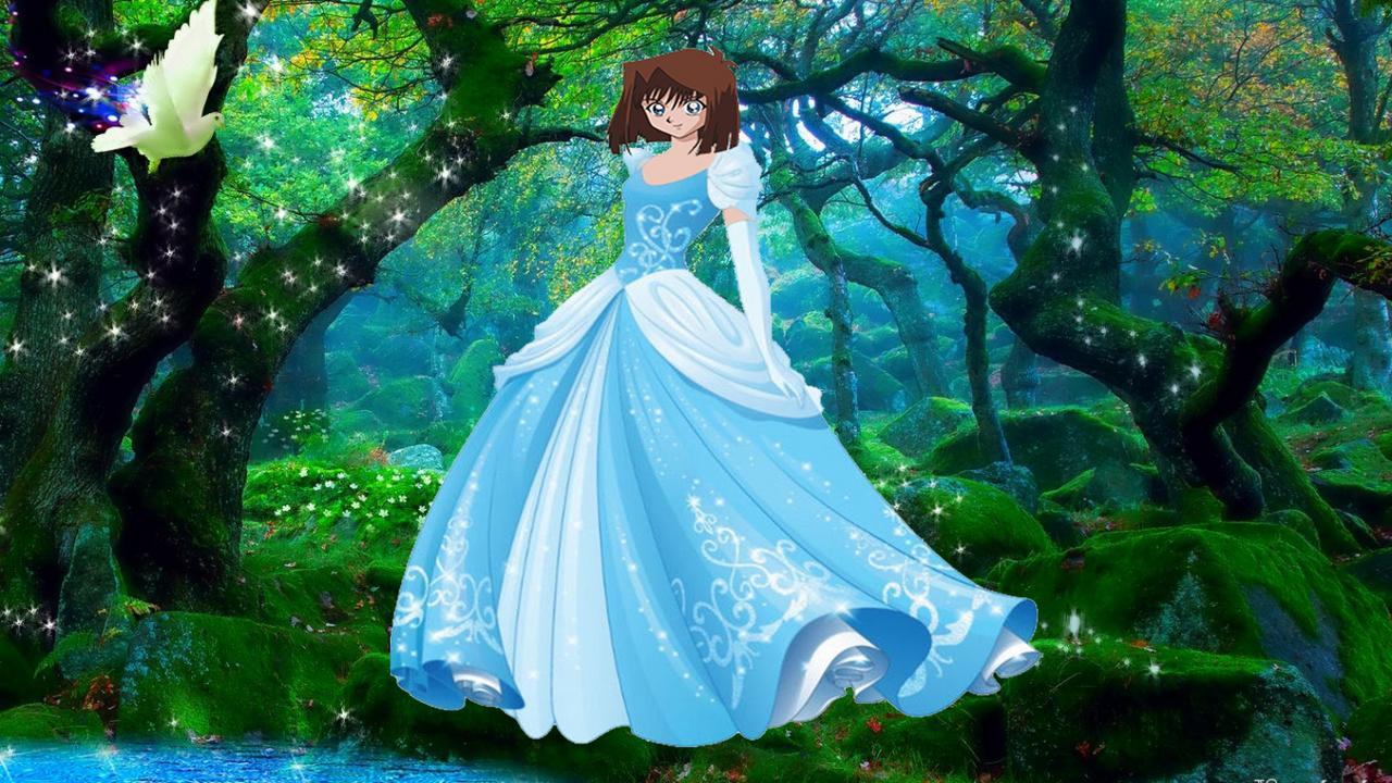 Hình Anzu Mazaki hóa trang thành truyện cổ tích Ifr