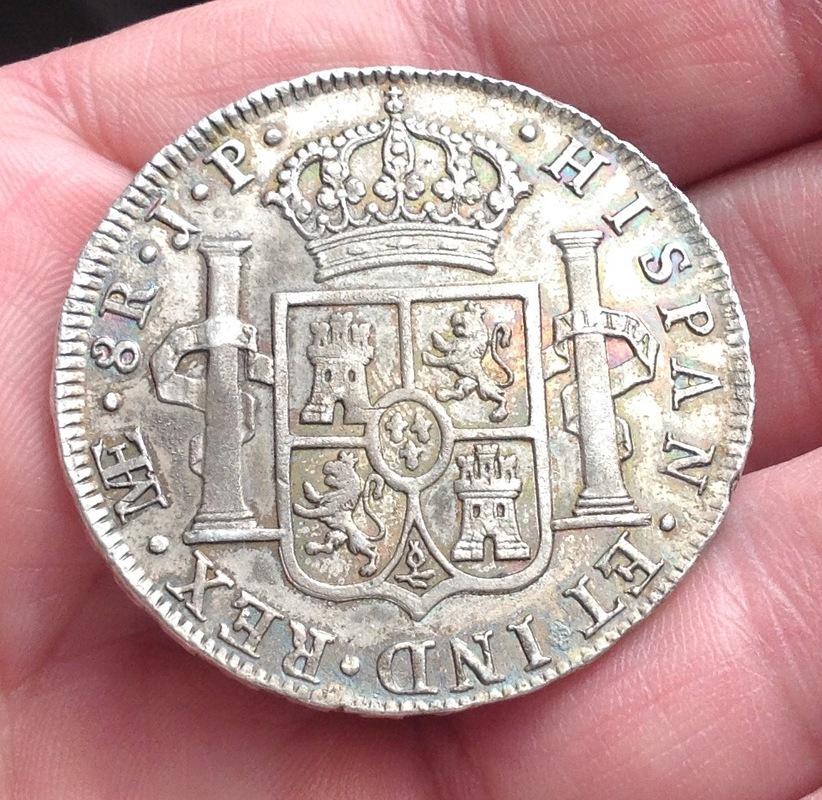 8 reales 1809. Fernando VII. Lima. Busto indígena. IMG_0469