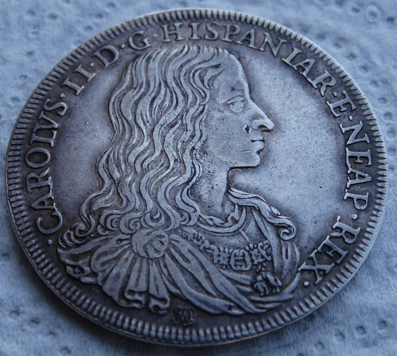 Ducado de 1684, Carlos II  ceca de Nápoles DSC04944