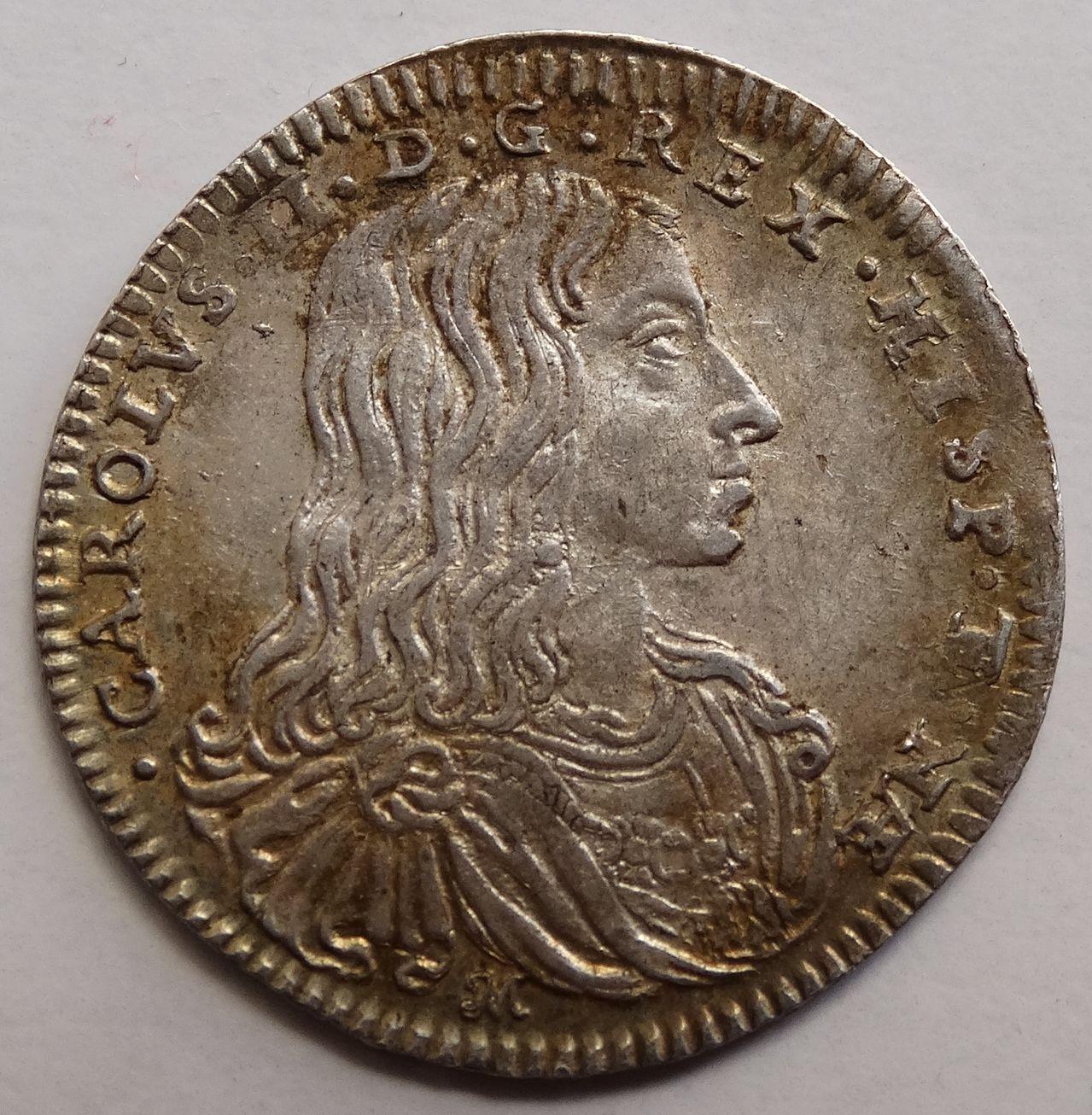 1 carlino de 1685. Carlos II, Nápoles DSC03291
