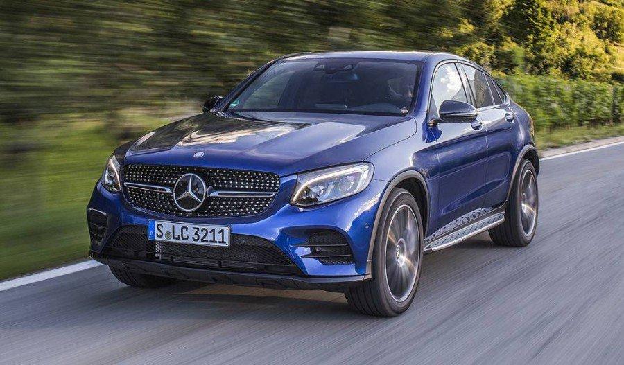 GLC 250 Coupe no Brasil Brilliant_Blue_Mercedes_Benz_GLC_250_Coupe_15_e1
