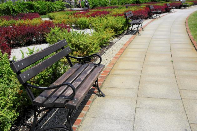 Gijom Muso-Central Park - Page 3 Track-bench-lawn-sidewalk-flower-asphalt-walkway-square-park-gar