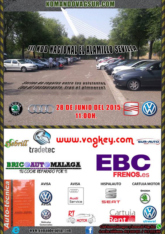 III KDD NACIONAL EL ALAMILLO - SEVILLA 28-6-2015 Cartel_KDD_sevilla_mayo_2015_1
