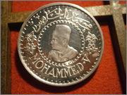 500 FRANCOS 1956 MARRUECOS  MOHAMED V PB260187