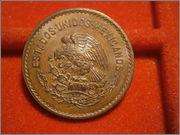 5 centavos 1946 Mexico PB240108