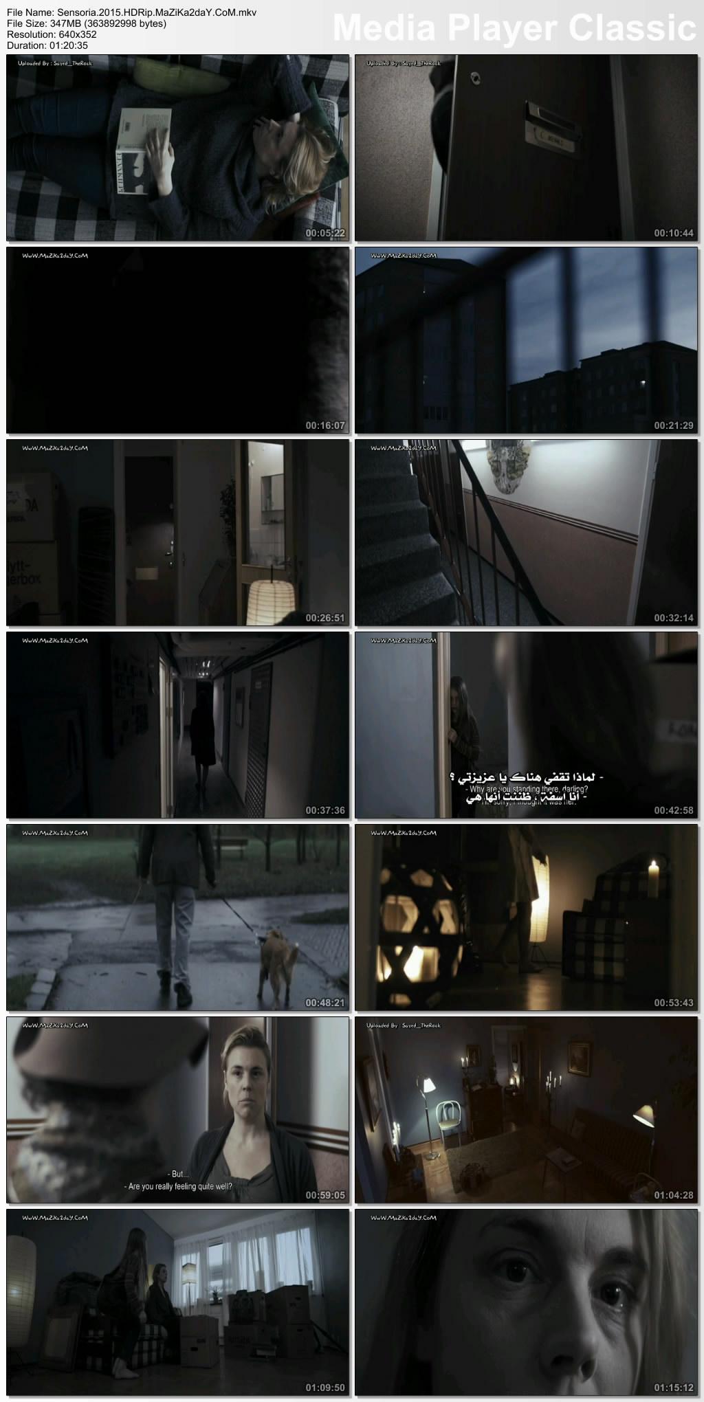 فيلم الرعب المُثير Sensoria 2015 مترجم بجودة HDRip تحميل مباشر Image