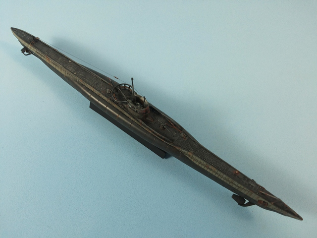 U-Boat Type VII C - Revell 1/350 U_Boat_45