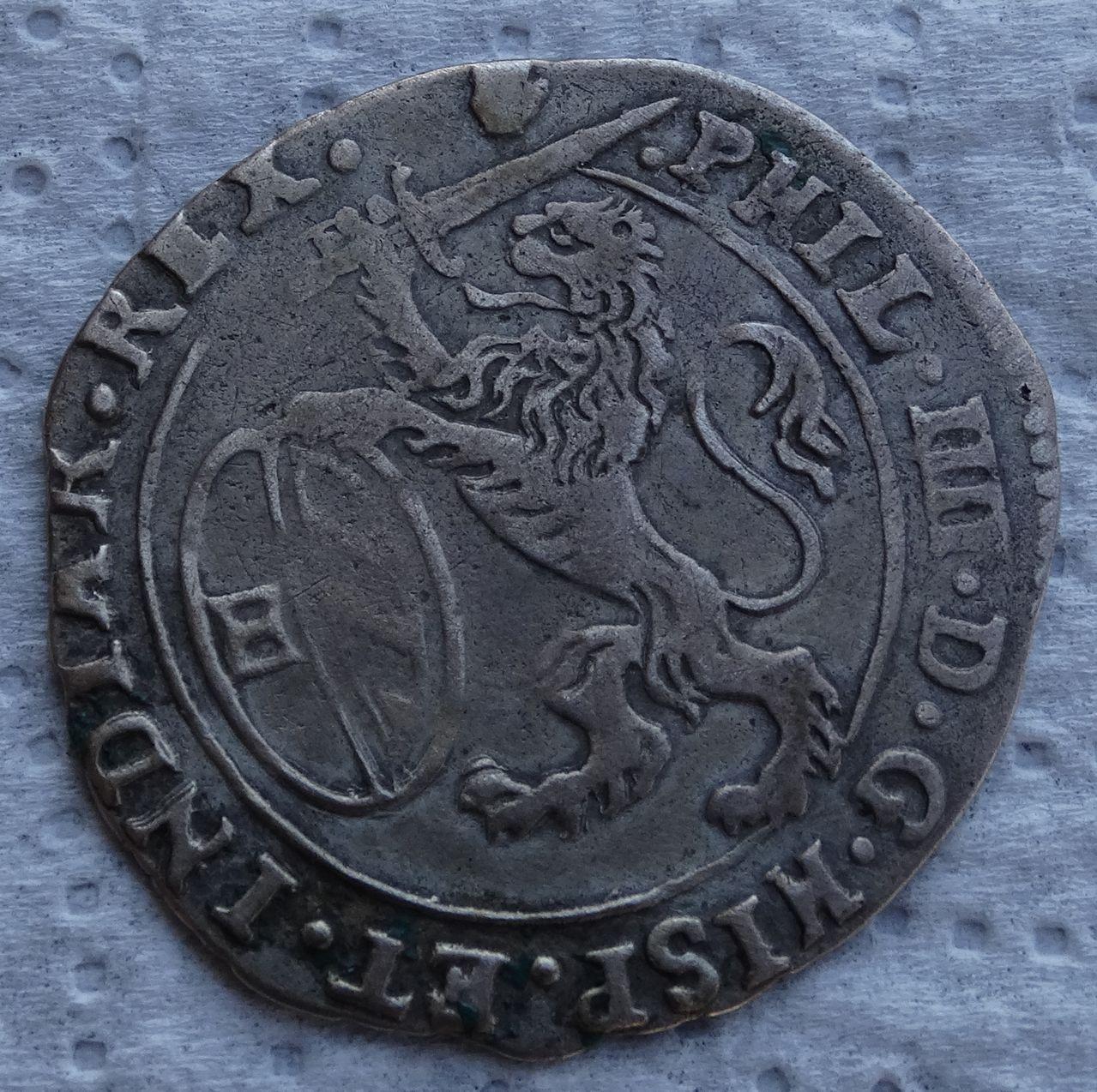 Escalin de 1654, Felipe IV. Amberes DSC04953