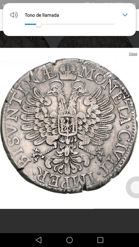 Thaler Besancon 1661 imagen Carlos V Screenshot_20180428-233543