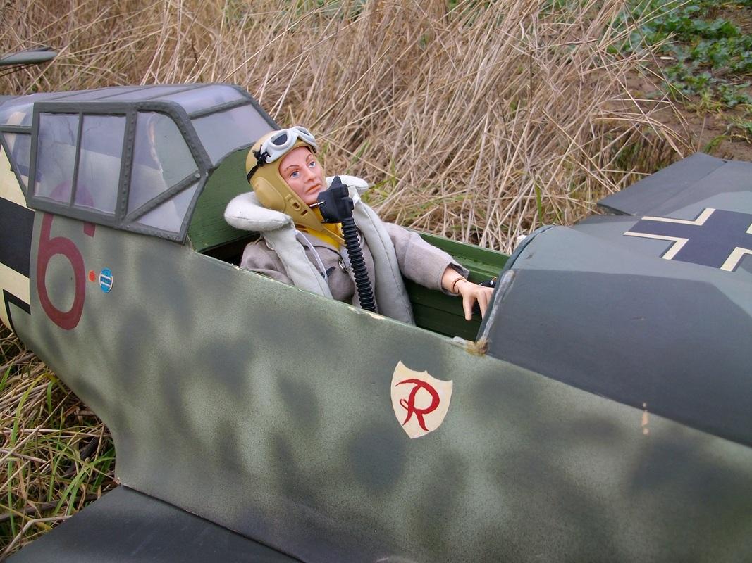 German DAK ME109 fighter pilot . IMGP0588