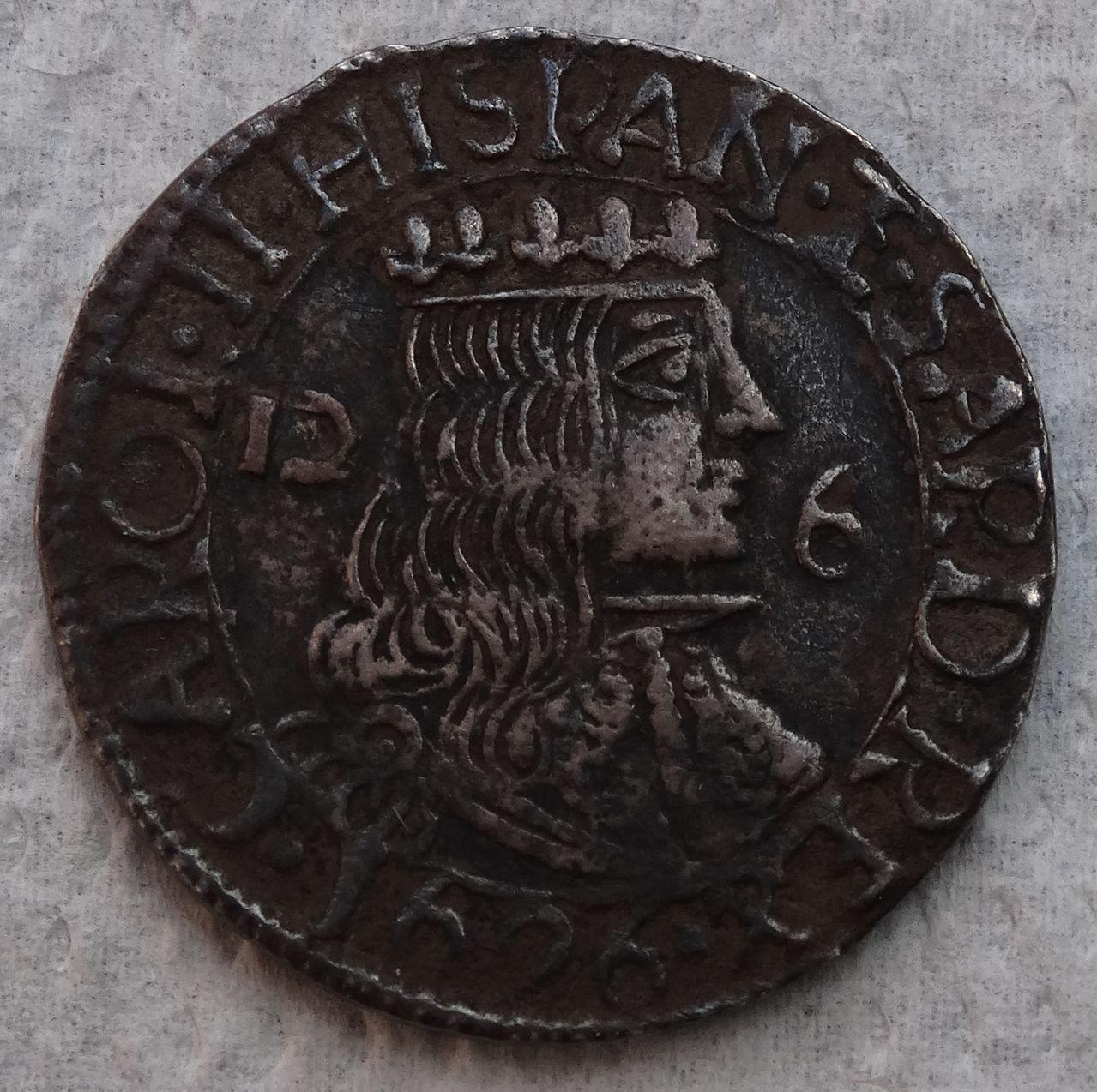 2 ½ reales de Carlos II. Cagliari DSC04379