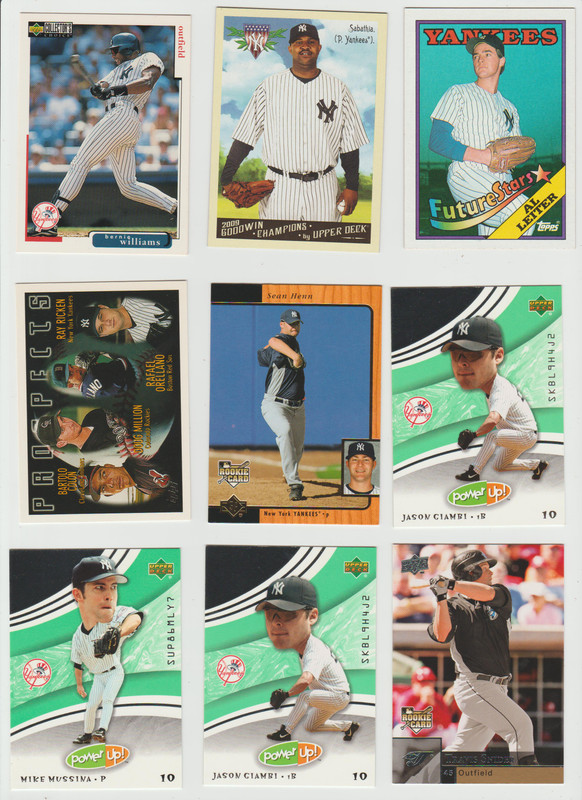 BB Cards F/S .10 cents Each (NEW LIST) Scanned Adding More 020