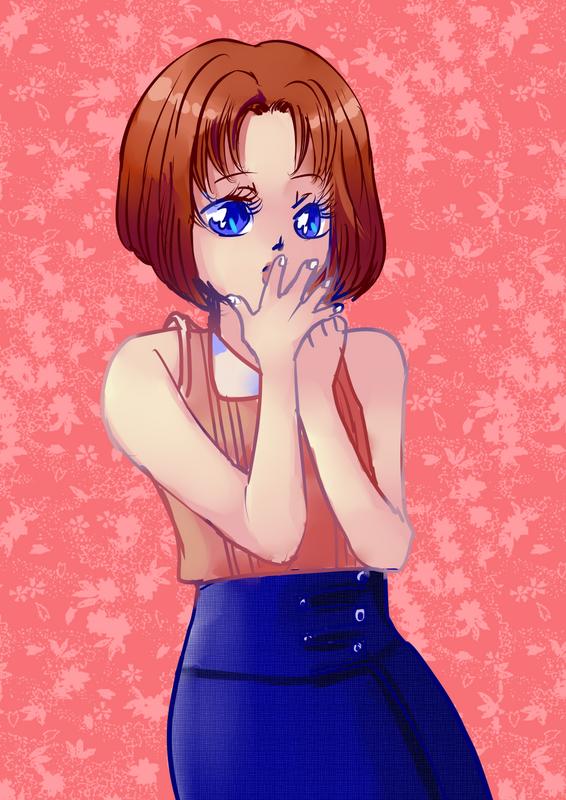 Hình vẽ Anzu Mazaki bộ YugiOh (vua trò chơi) - Page 3 1_Anzup_101
