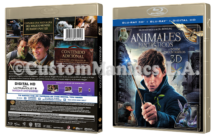 LIBERADA - Animales Fantásticos y Dónde Encontrarlos (Fantastic Beasts and Where to Find Them)  DVD + BLU-RAY Animal_3_D
