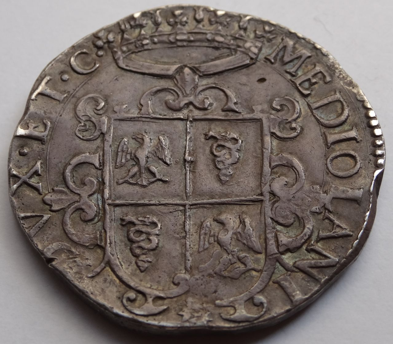 Ducatón de 1622. Felipe IV. Milán DSC03578