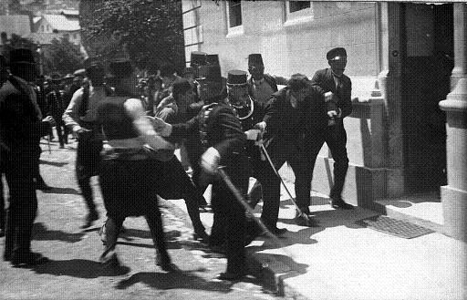 Dish of the Day - II Gavrilo_Princip_captured_in_Sarajevo_1914