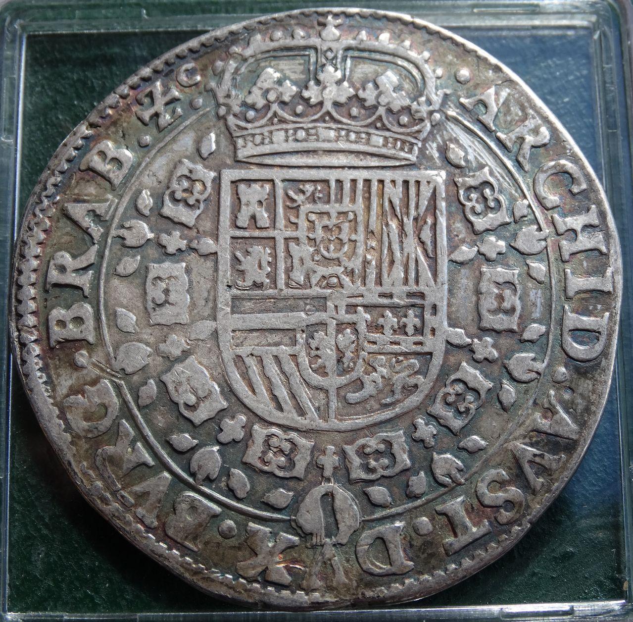 Patagón de Felipe IV, Amberes (1633). DSC01913