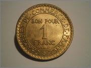 1 franco de Francia 1927 Camara de Comercio P3060775