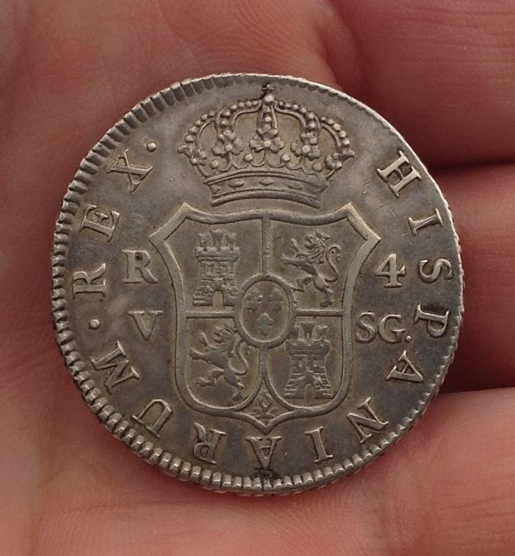 4 reales 1810. Fernando VII. Valencia IMG_0542