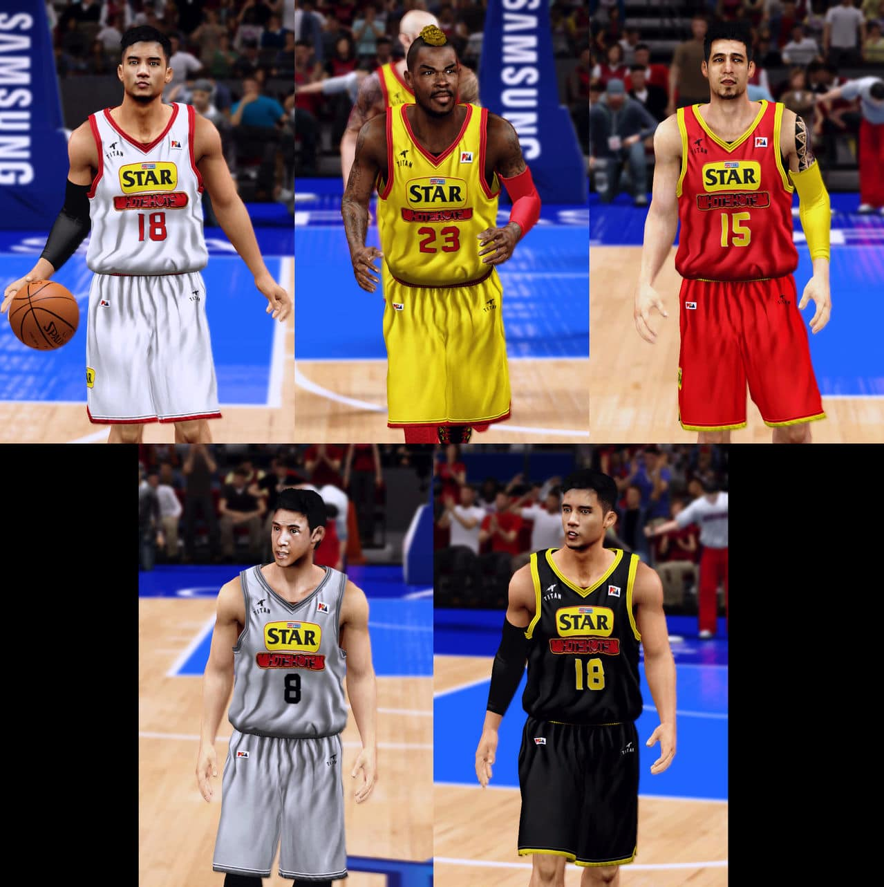 MAJOR BASKETBALL LEAGUE 2K14 - Version 4.1 RELEASED!!! PUR