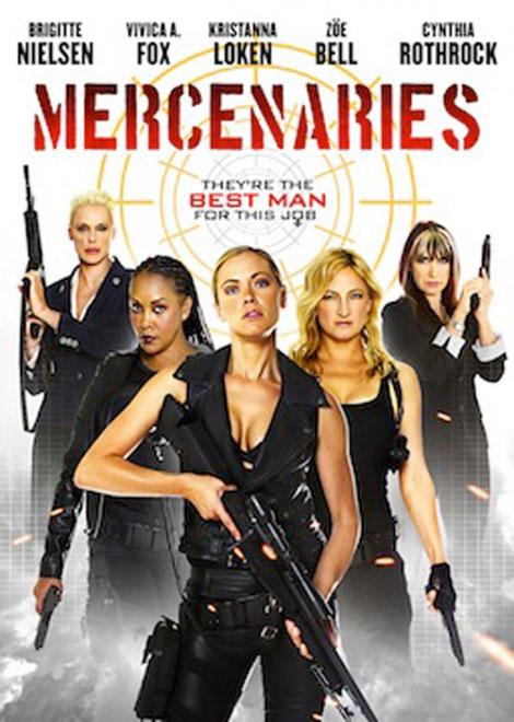 """Prison Raid (un Female """"Expendables"""" de serie B) MERCENARIES_poster"""
