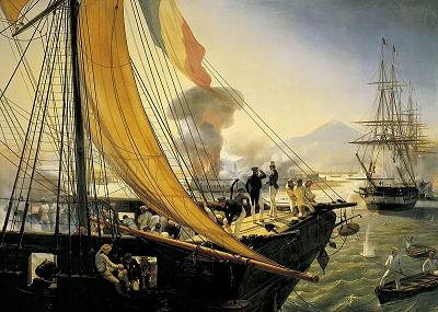 Dish of the Day - II - Page 3 Bombing_of_San_Juan_de_Ulua_by_Horace_Vernet