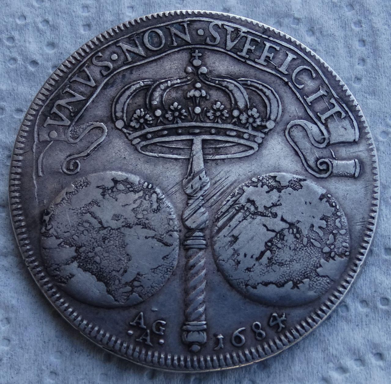 Ducado de 1684, Carlos II  ceca de Nápoles DSC04945