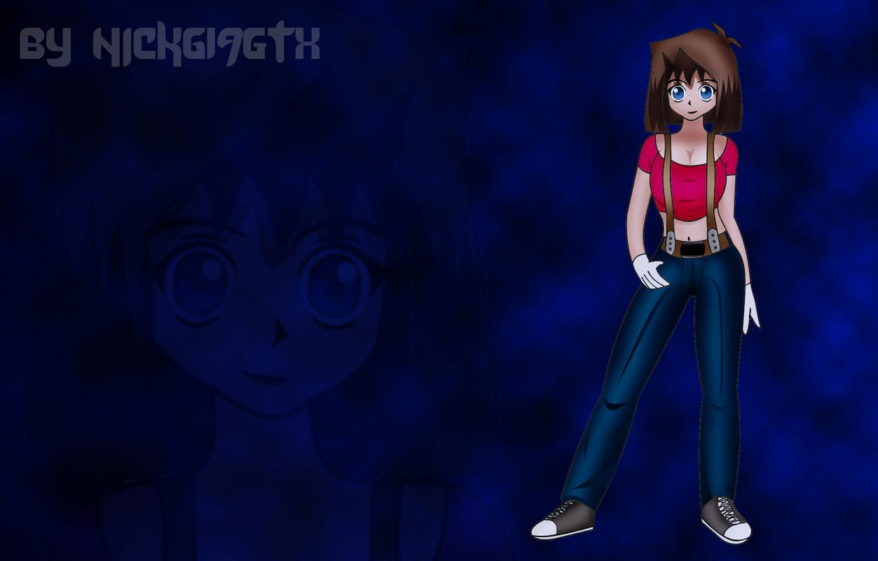 Hình vẽ Anzu Mazaki bộ YugiOh (vua trò chơi) 1_Anzup_31