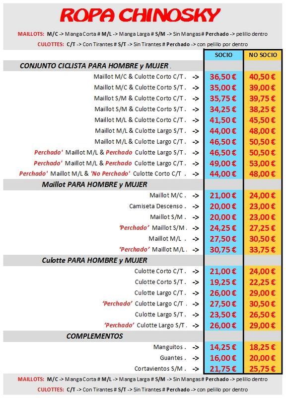 NEW ORDER 'CHINOSKY' PRECIOS_ESPA_OL