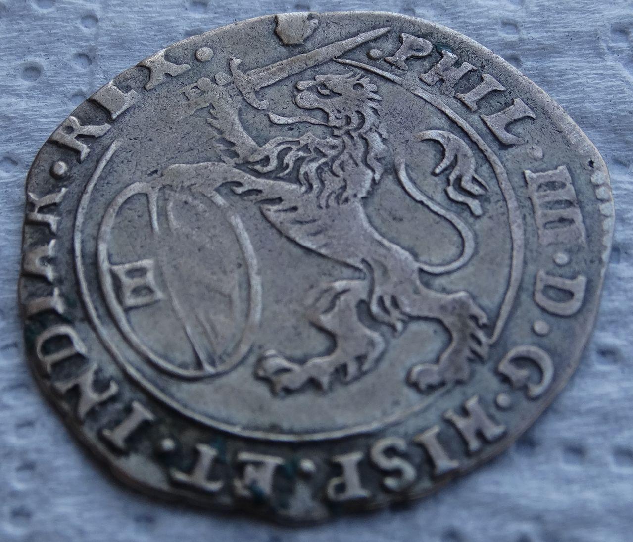 Escalin de 1654, Felipe IV. Amberes DSC04954