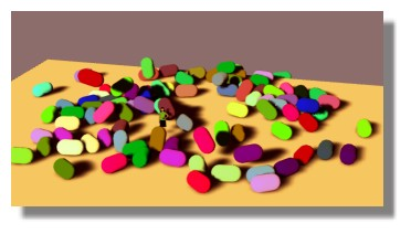 [ SKETCHUP ] Positions naturelles Capsules