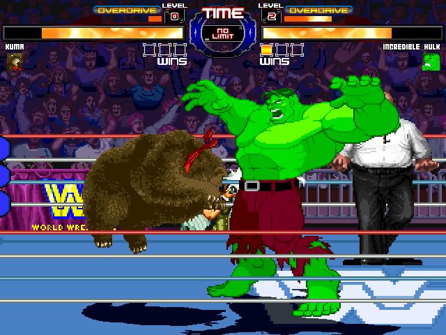 WWF-Ring Arena By Supaman2525 & OldGamer Mugen026