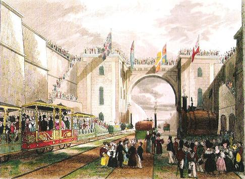 Dish of the Day - II Opening_of_the_Liverpool_and_Manchester_Railway