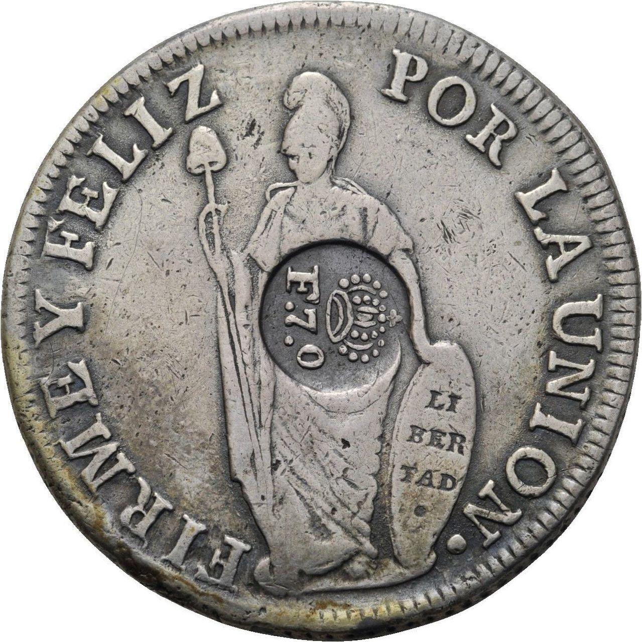 8 REALES FILIPINAS RESELLO FERNANDO VII ¿AUTENTICO? 57_2