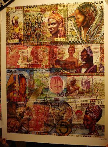 billetes africanos Col3