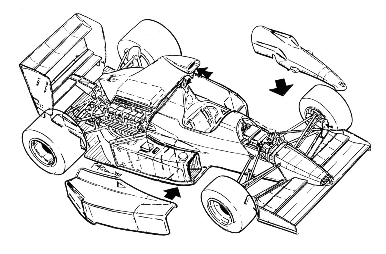 cutaway drawing page 3 1972 Super Beetle Chassis