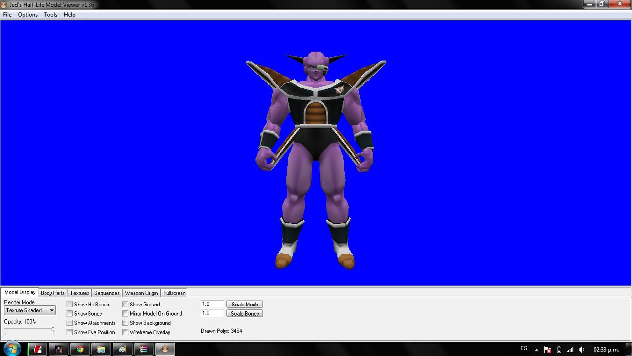 [Model Sin Amxx] Ginyu 111111111111111111